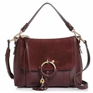 BRAND NEW See By Chloe Leather&Suede Shoulder Bag
